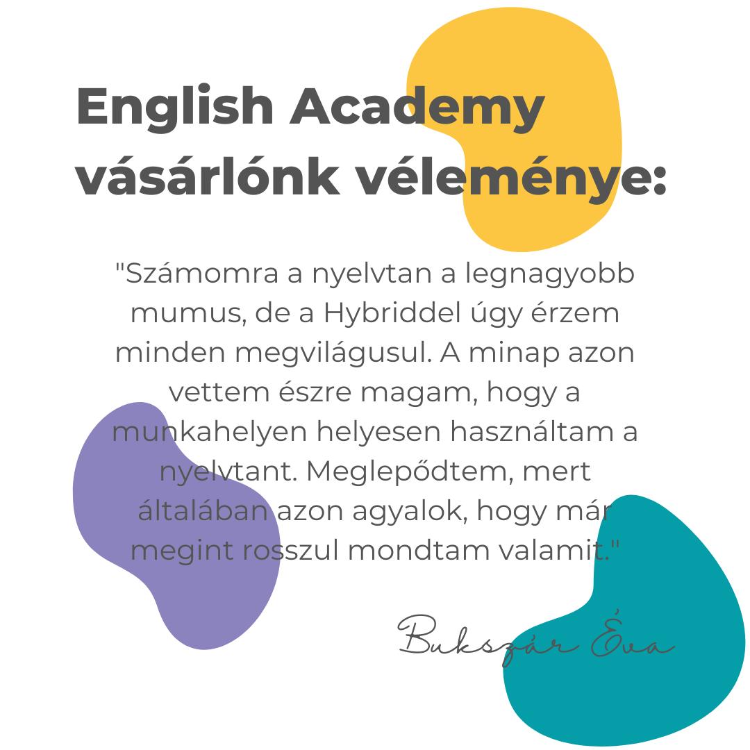 angol tananyag vélemény